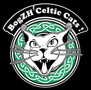 Logo Chat BogZH Celtic Cats !